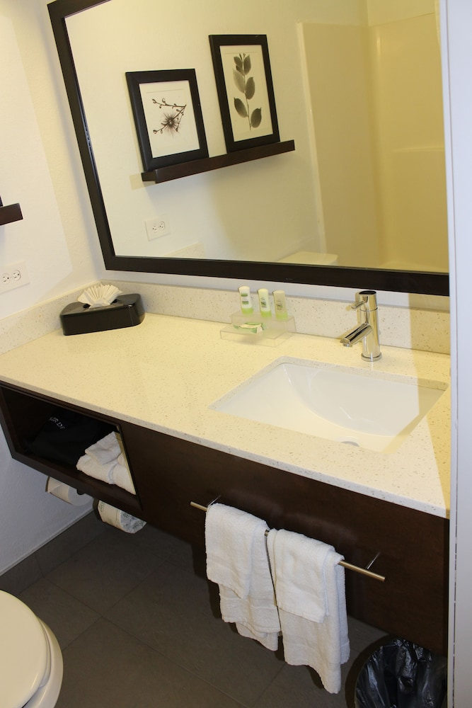 Bathroom, Country Inn & Suites by Radisson, Romeoville, IL