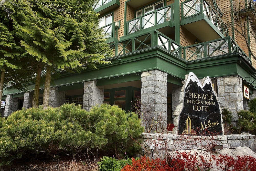 Exterior detail, Pinnacle Hotel Whistler Village