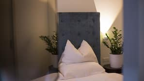 1 dormitorio, ropa de cama de alta calidad, minibar y caja fuerte