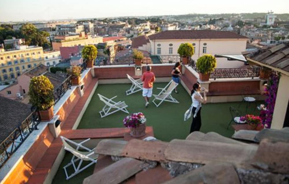 Terrace/Patio, Hotel Colosseum