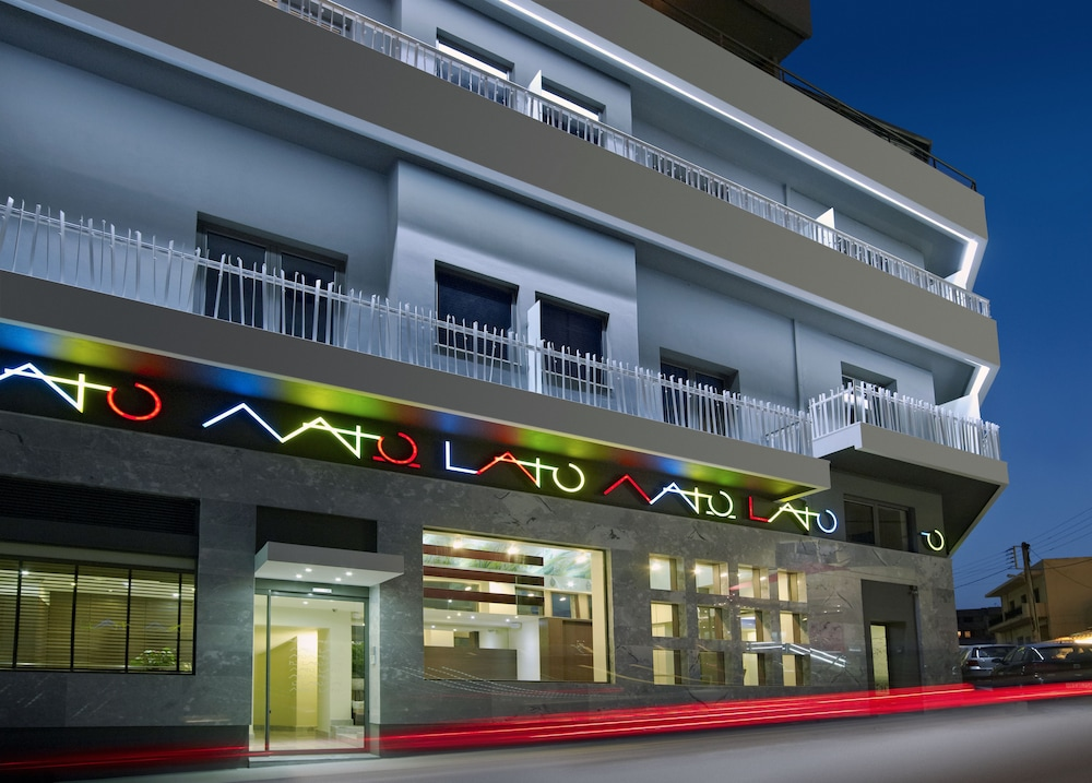 Front of Property - Evening/Night, Lato Boutique Hotel
