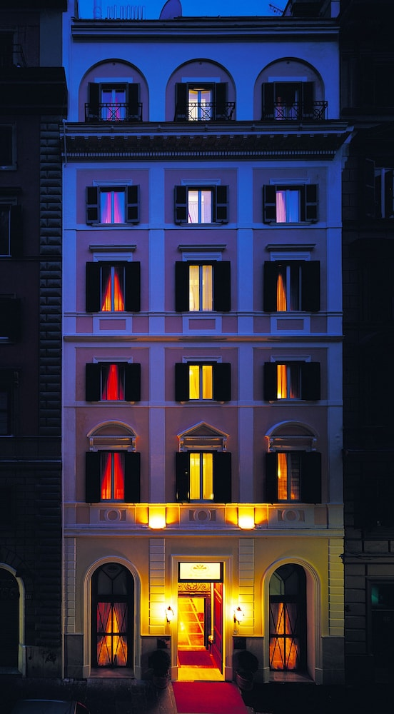 Front of Property - Evening/Night, The Baileys Hotel - Rome