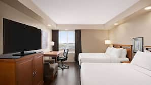 Premium bedding, pillow top beds, in-room safe, individually furnished