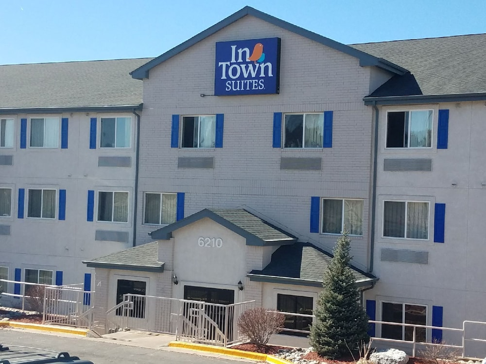 Front of Property, InTown Suites Colorado Springs