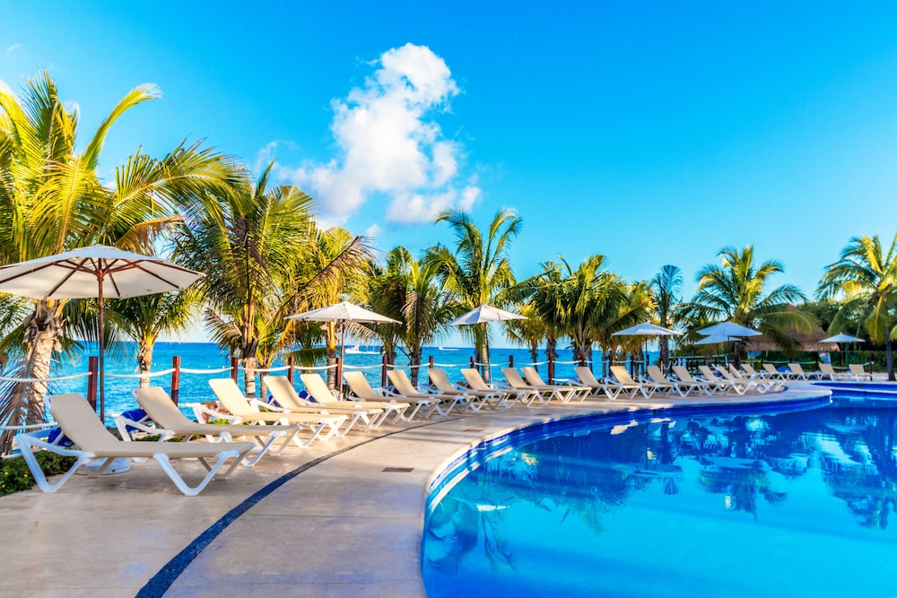 Outdoor Pool, Occidental Cozumel - All Inclusive