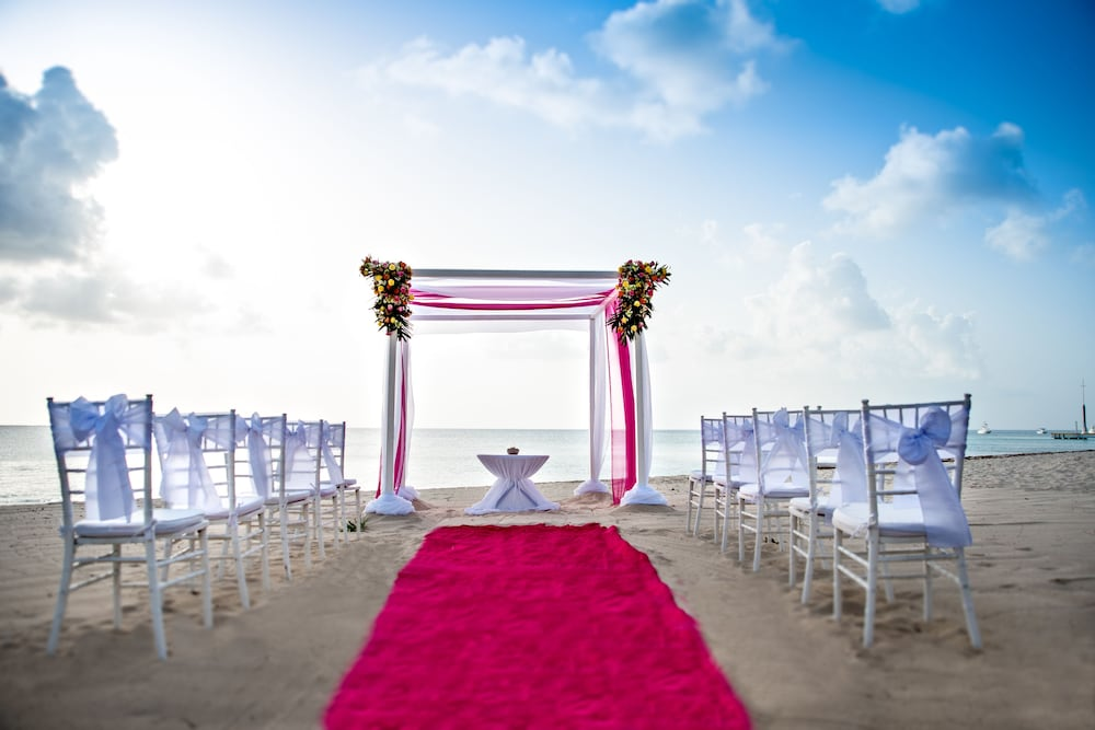 Outdoor Wedding Area, Occidental Cozumel - All Inclusive