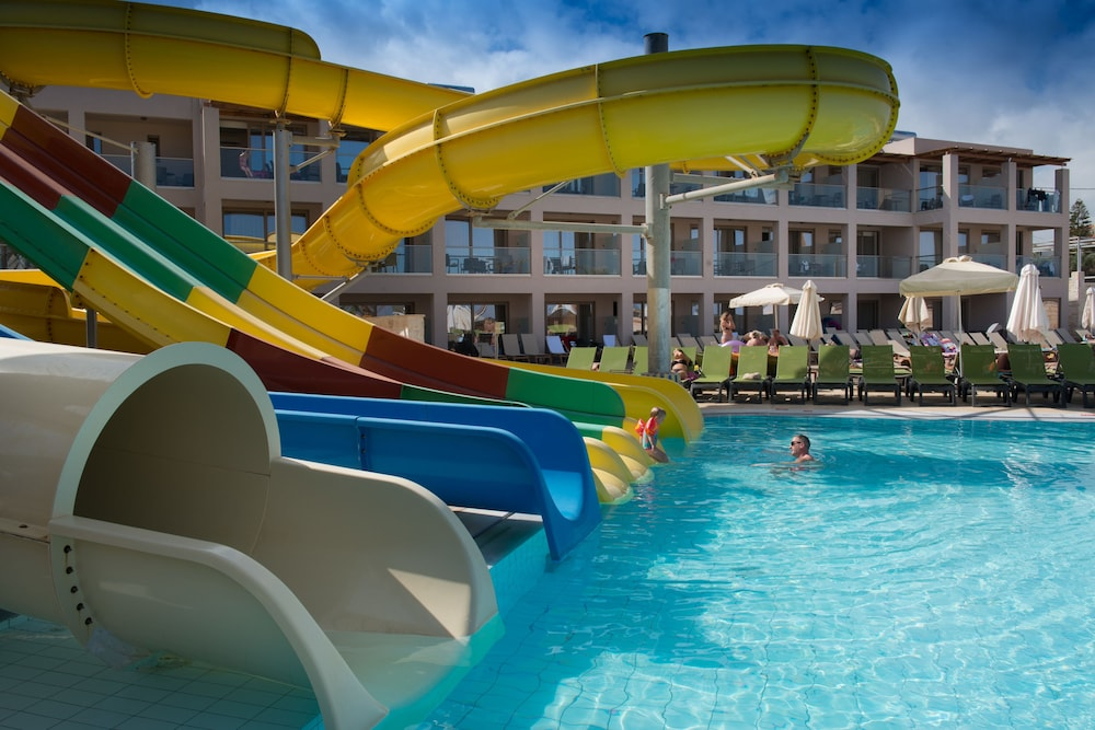 Waterslide, Gouves Water Park Holiday Resort