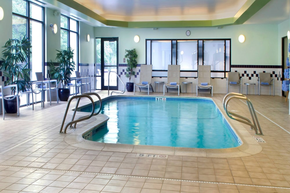 Indoor Pool, SpringHill Suites by Marriott Boston/Andover
