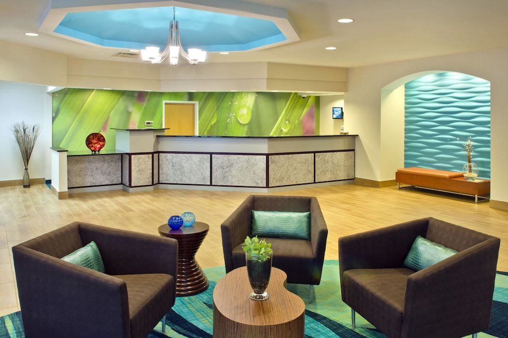 Lobby, SpringHill Suites by Marriott Boston/Andover