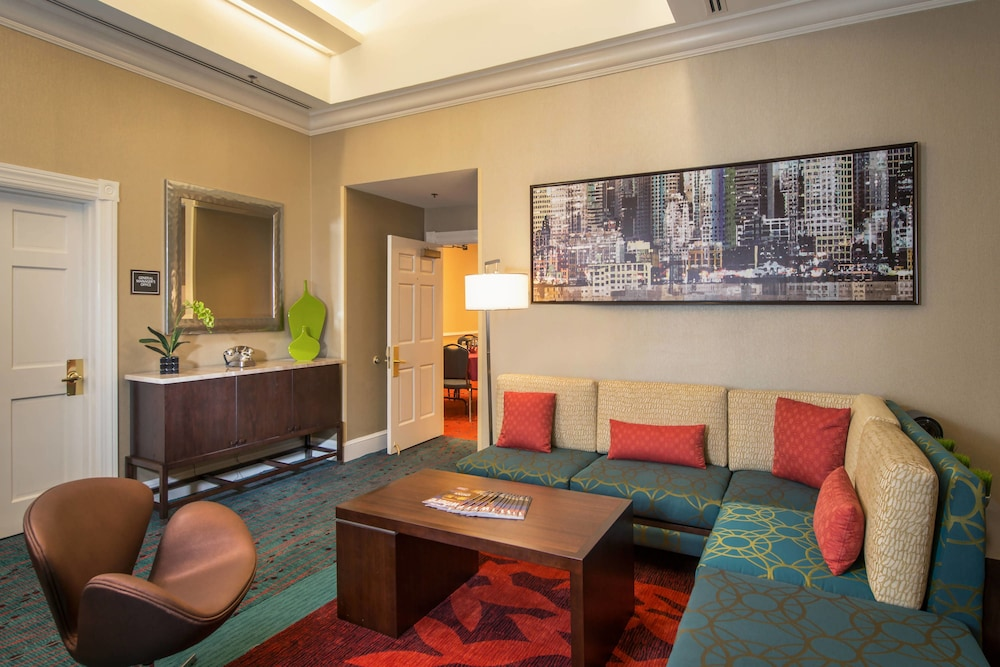 Lobby, Residence Inn by Marriott Arlington at Rosslyn