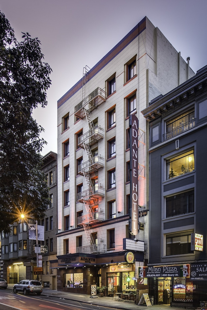 Front of Property - Evening/Night, Adante Hotel