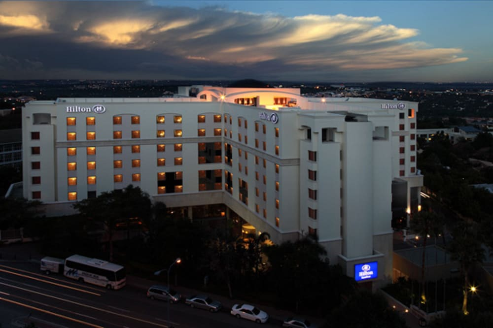 Front of Property - Evening/Night, Hilton Sandton