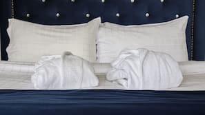 Allergivenligt sengetøj, skrivebord, gratis baby-/barnesenge