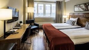 In-room safe, rollaway beds, Internet, linens