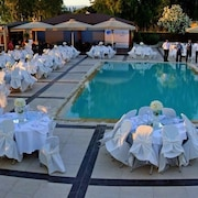 Outdoor Banquet Area