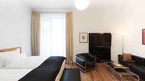 Allergikerbettwaren, kostenlose Minibar, Zimmersafe, Schreibtisch
