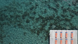 Beach nearby, free beach shuttle, beach towels, snorkeling