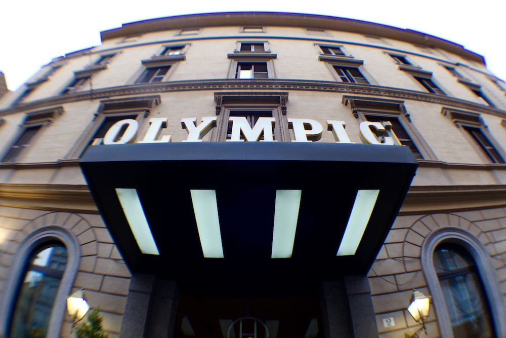 Front of Property, Grand Hotel Olympic
