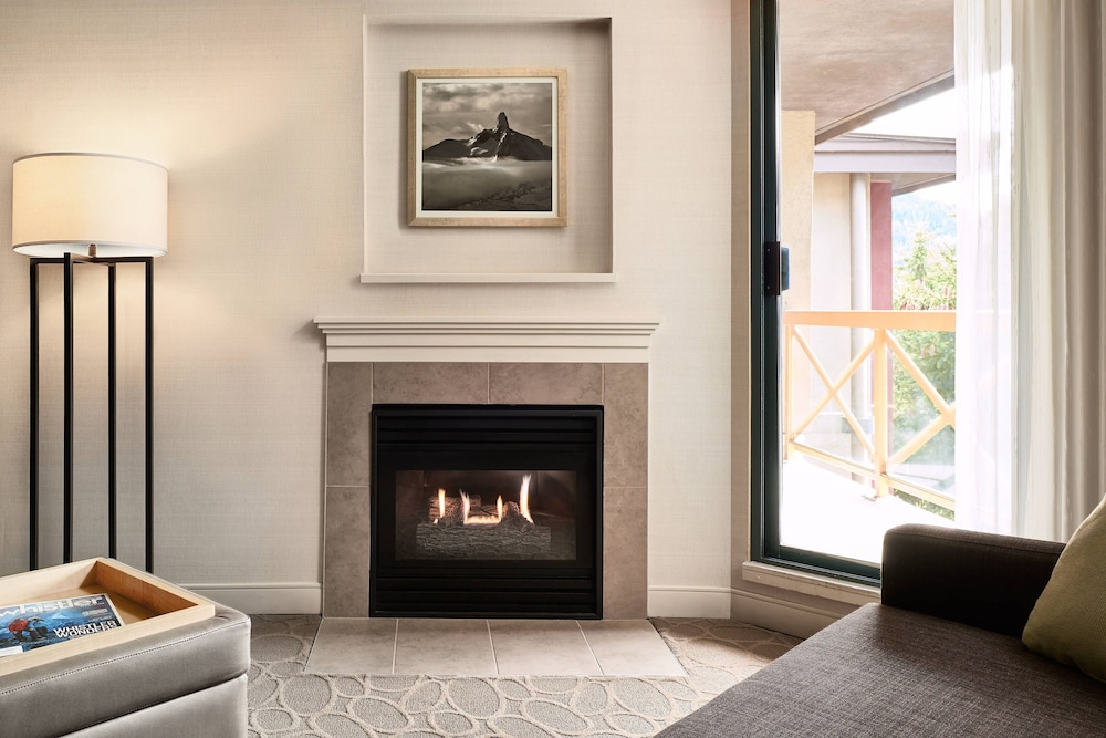 Fireplace, Delta Hotels by Marriott Whistler Village Suites