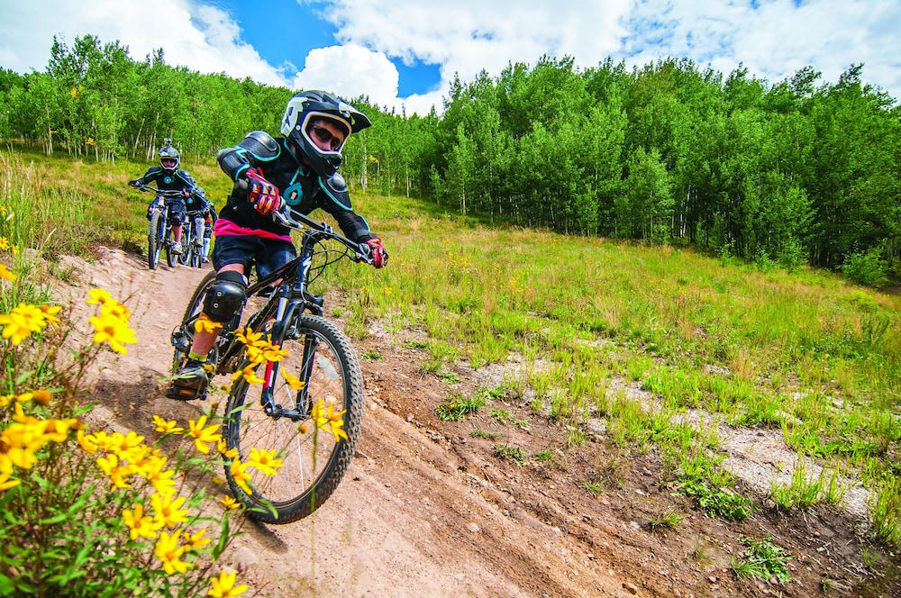 Bicycling, Grand Lodge Crested Butte