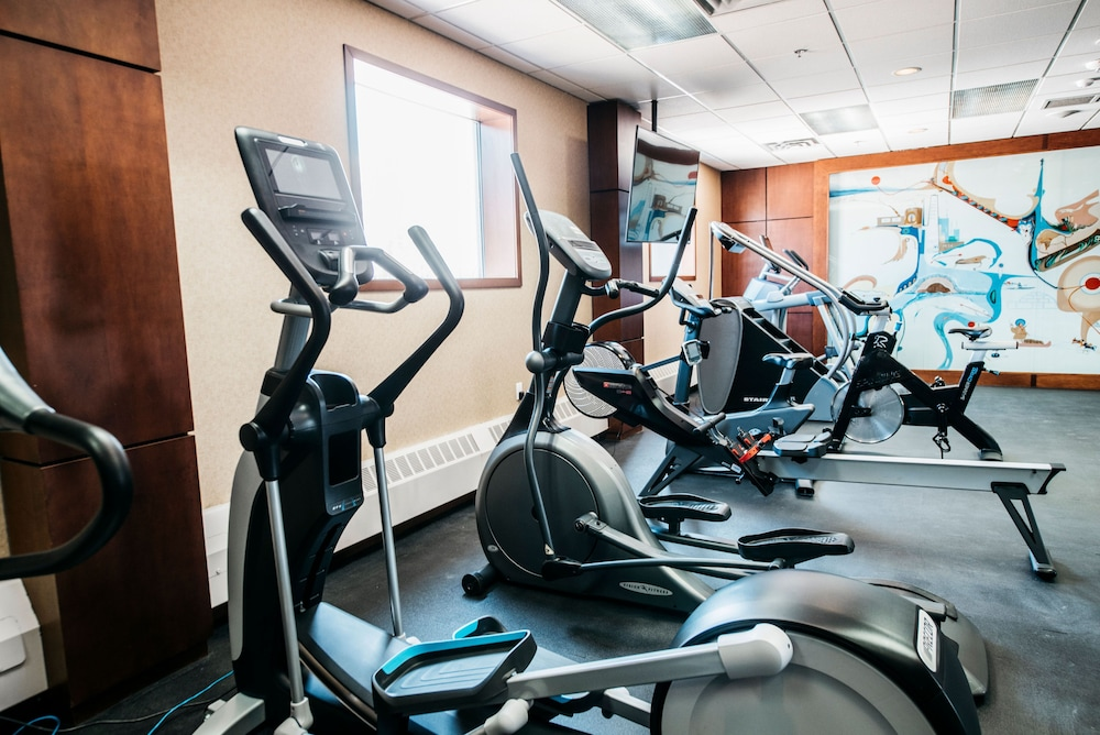 Fitness Facility, The Explorer Hotel Yellowknife