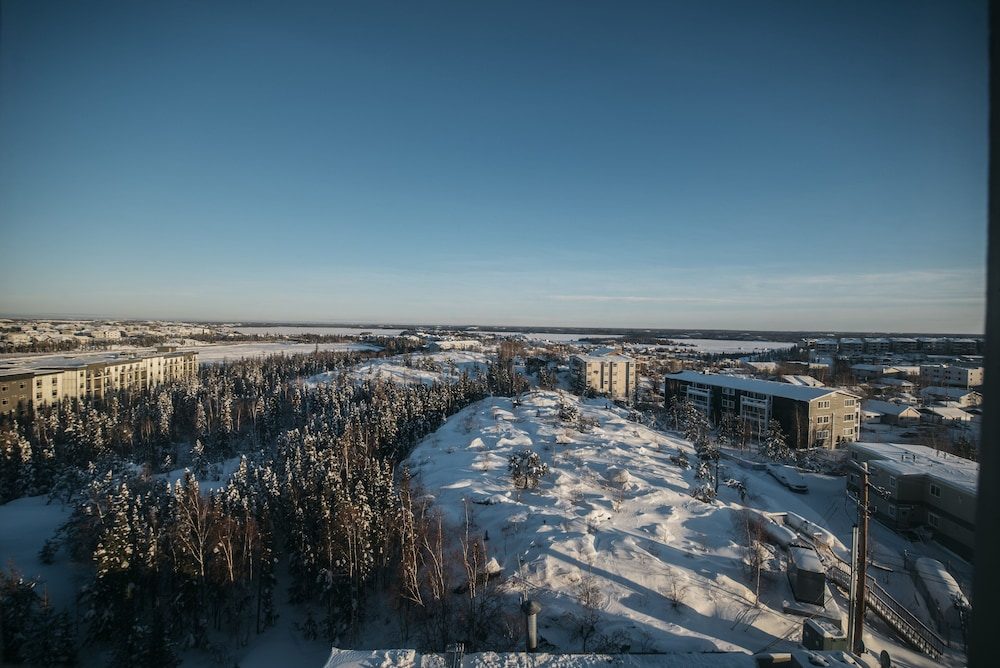 View from Room, The Explorer Hotel Yellowknife