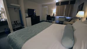 Pillowtop beds, individually furnished, desk, soundproofing