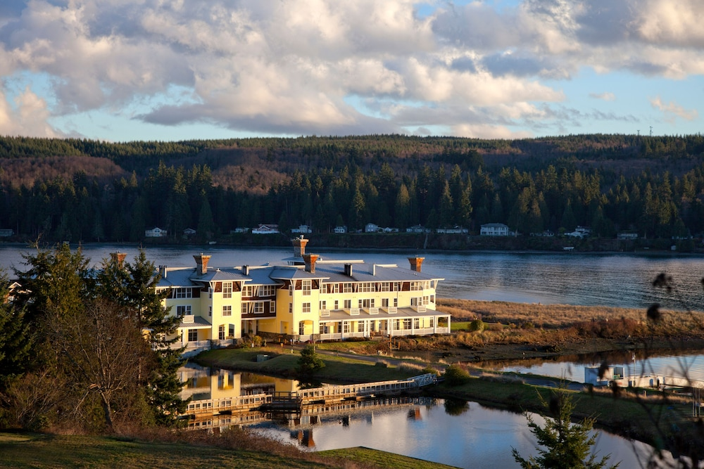 Aerial View, The Resort at Port Ludlow