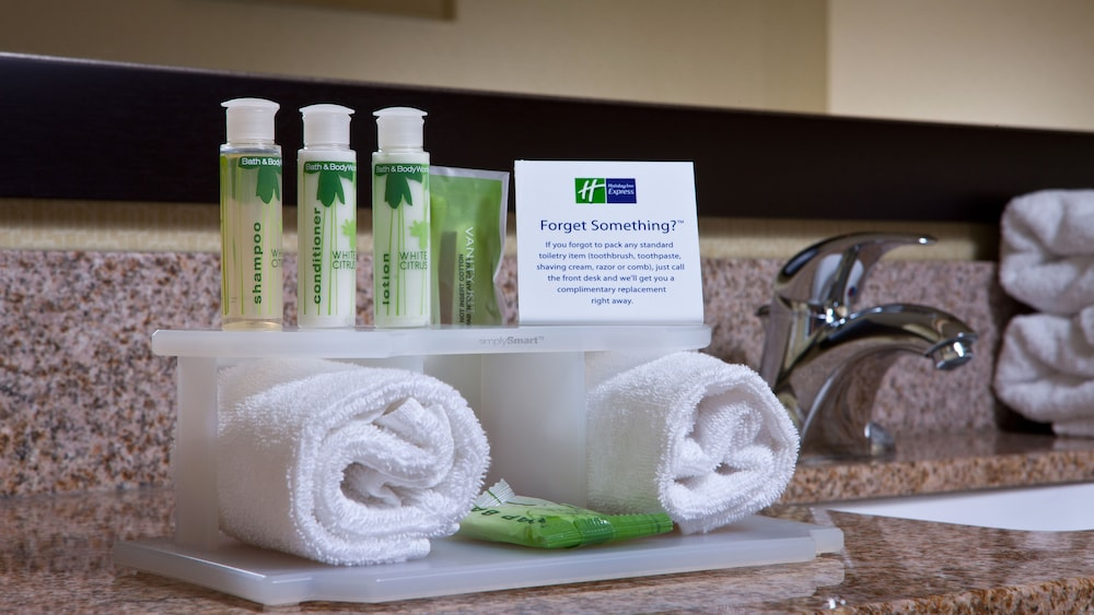 Bathroom Amenities, Holiday Inn Express Hotel & Suites Saginaw