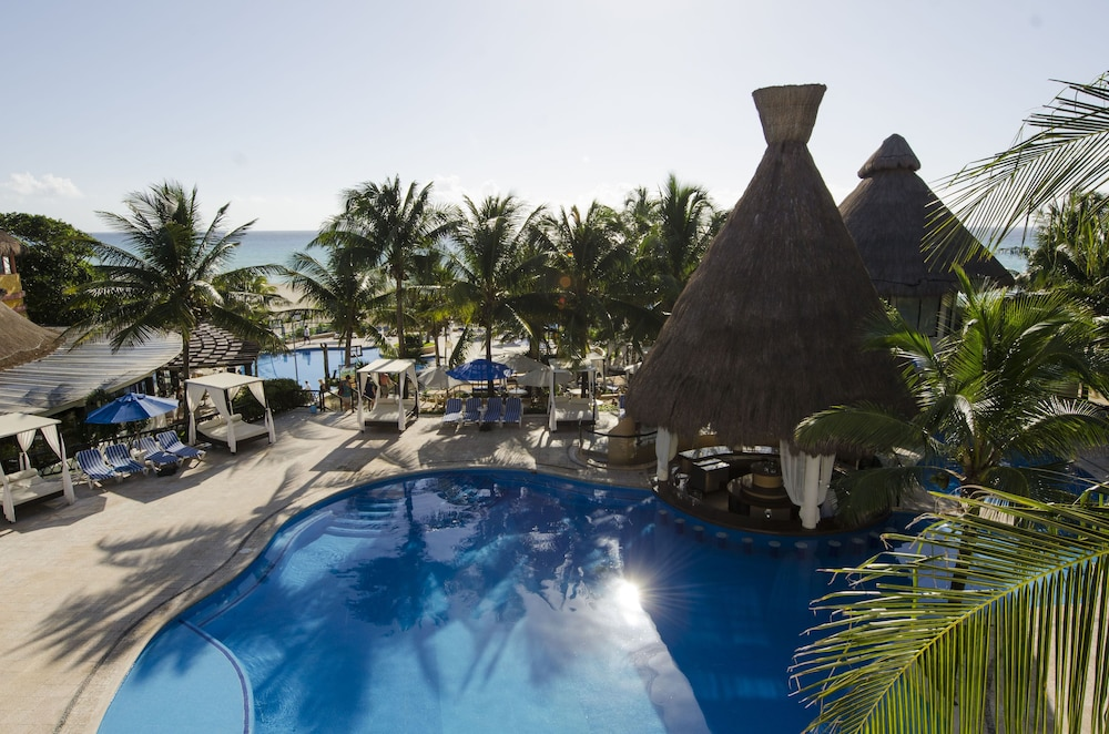Pool, The Reef Playacar Resort & Spa - Optional All Inclusive
