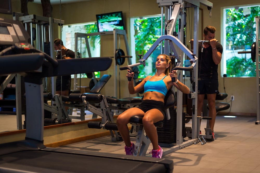Gym, The Reef Playacar Resort & Spa - Optional All Inclusive