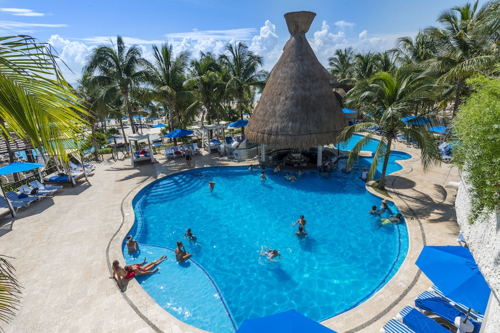 Outdoor Pool, The Reef Playacar Resort & Spa - Optional All Inclusive
