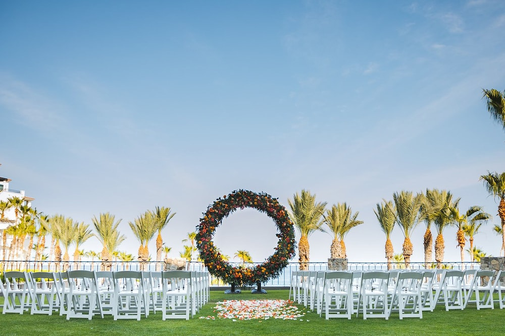 Outdoor Wedding Area, Hilton Los Cabos Beach & Golf Resort