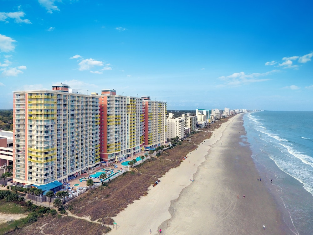 Main Area Of Myrtle Beach