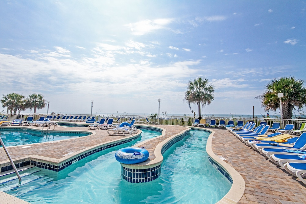 Outdoor Pool, Bay Watch Resort & Conference Center by Vacasa