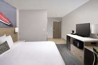 Standard Room, 1 King Bed, Refrigerator & Microwave