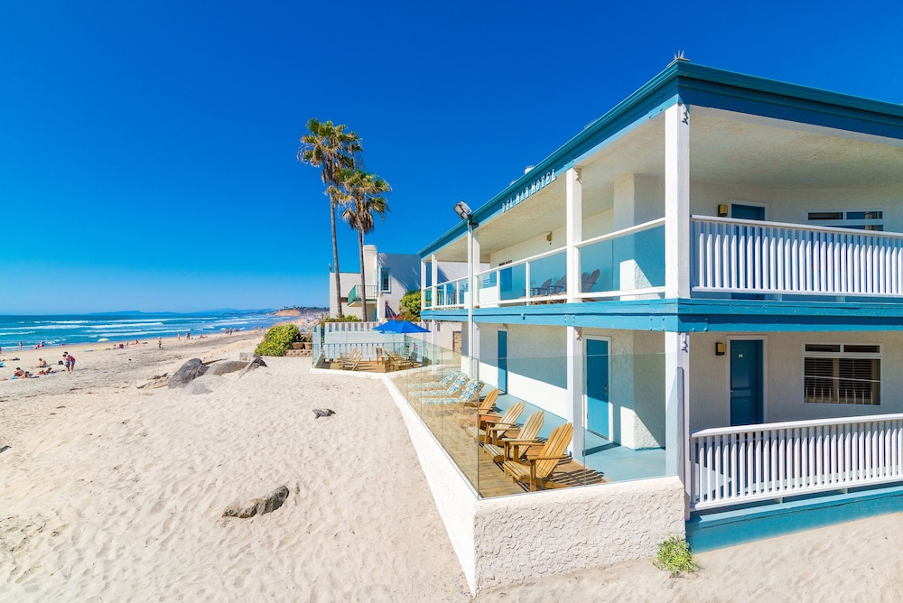 Del mar motel on the beach in san diego county hotel for San diego county cabin rentals