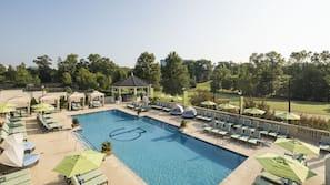 3 indoor pools, outdoor pool, cabanas (surcharge), pool umbrellas