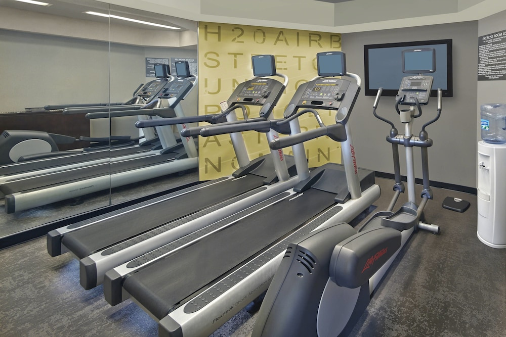 Fitness Facility, Residence Inn By Marriott Fort Lauderdale Weston