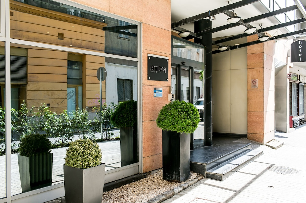 Property Entrance, Ambra Hotel