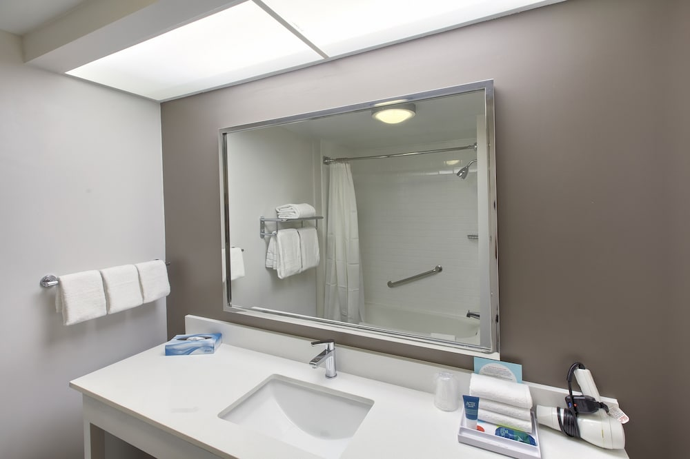 Bathroom, Four Points by Sheraton Charlotte - Pineville