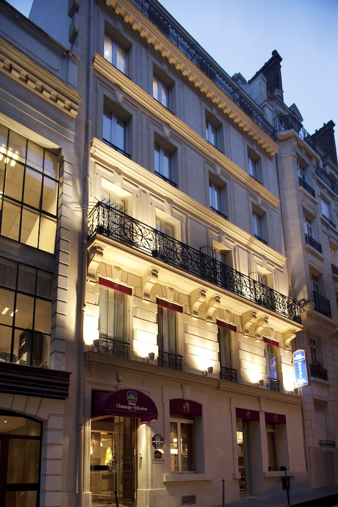 Best western star champs elysees in paris hotel rates reviews on orbitz - H m paris champs elysees ...