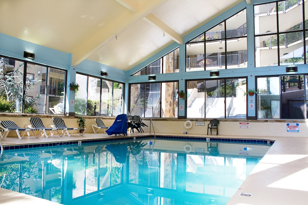 Indoor Pool, Gatlinburg Town Square by Exploria Resorts