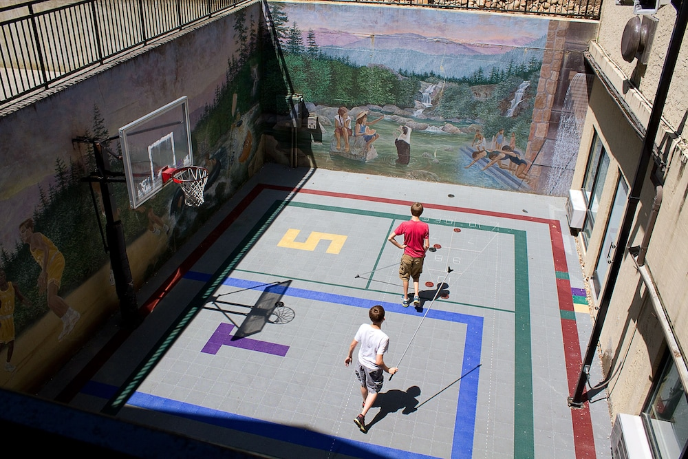 Basketball Court, Gatlinburg Town Square by Exploria Resorts