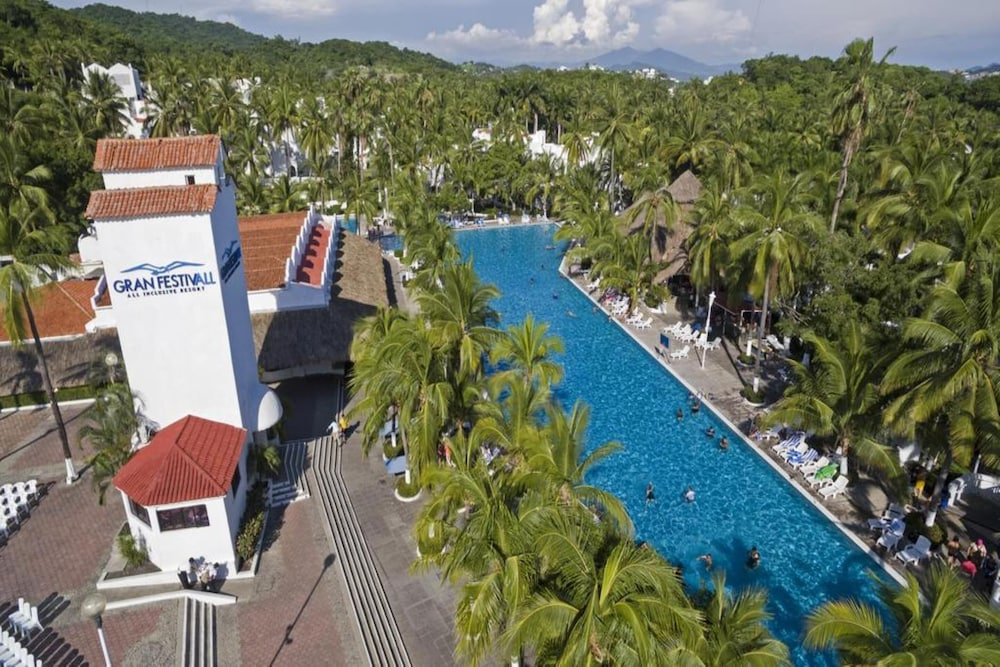 Outdoor Pool, Palette Gran Festivall Resort by OYO
