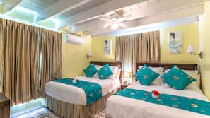 In-room safe, iron/ironing board, linens, wheelchair access