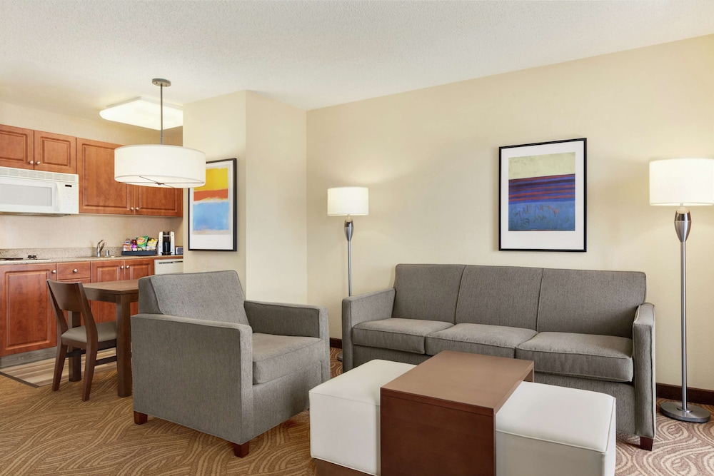 Living Area, Homewood Suites by Hilton Oakland-Waterfront