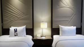 Literie de qualité supérieure, minibar, coffre-forts dans les chambres