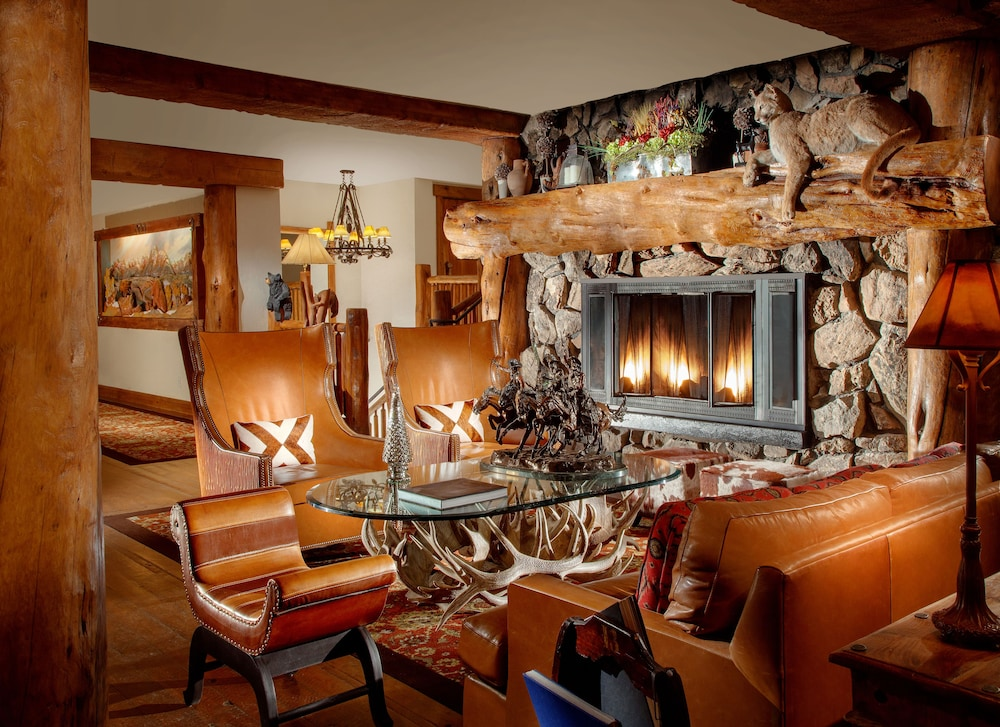Lobby Sitting Area, Snake River Lodge & Spa
