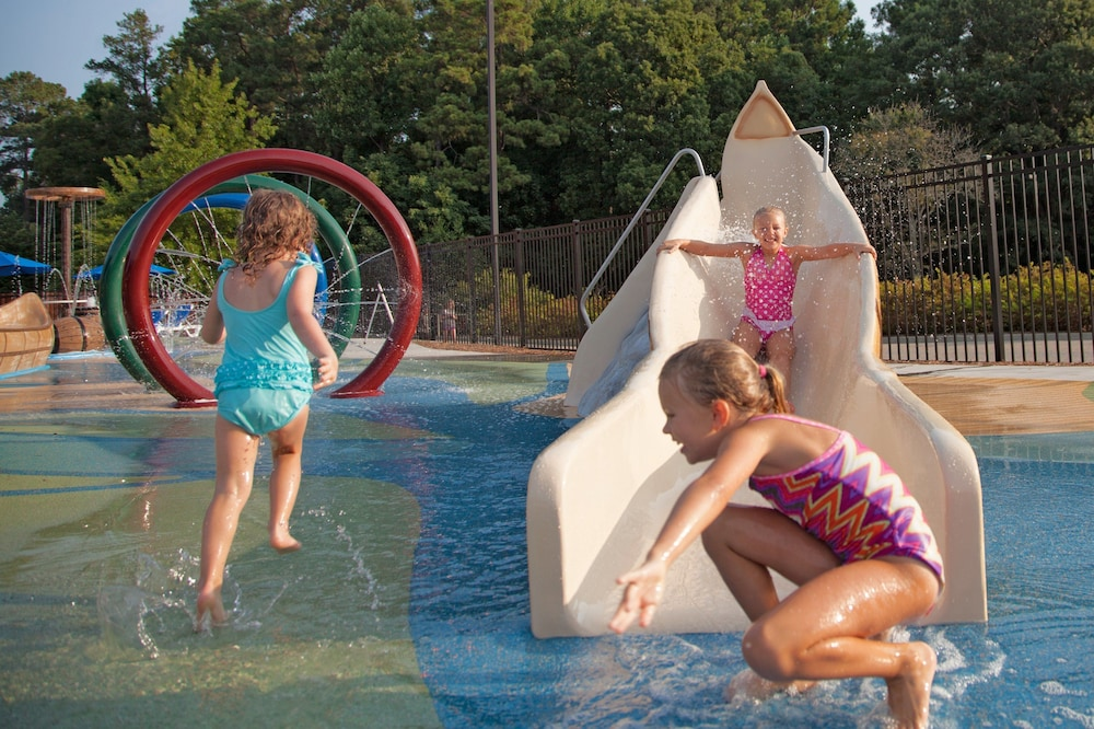 Children's Play Area - Outdoor, Woodlands Hotel & Suites - A Colonial Williamsburg Hotel